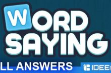 Word Saying Answers ALL Level & Packs as walkthrough
