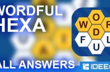 Wordful HEXA Answers EASY SEARCH all Levels
