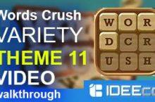 Words Crush Variety THEME 11 Walkthrough Video