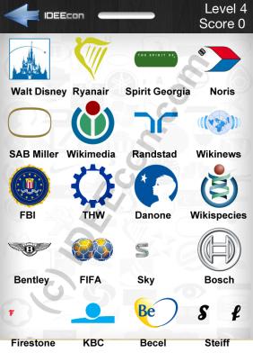 Lösungen Für Logo Quiz