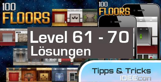 100 Floors Level 61 62 63 64 65 66 67 68 69 70