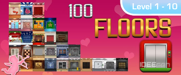 100 Floors L 246 Sung Valentines Special Level 1 2 3 4 5