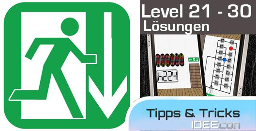 100 Exits Level 21 22 23 24 25 26 27 28 29 30