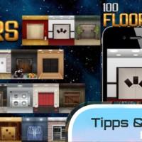 100 Floors iPhone App Spiel Hilfe Anleitung Beschreibung Tipps und Tricks IDEEcon