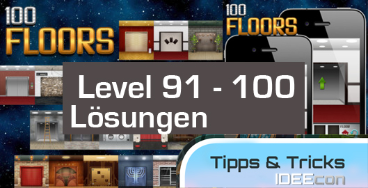 100 Floors Level 91 92 93 94 95 96 97 98 99 100
