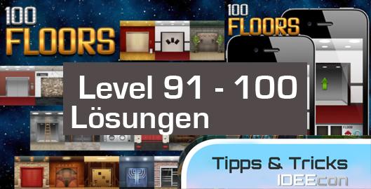 100 Floors Level 91 92 93 94 95 96 97 98 99 100 L 246 Sungen L 246 Sungen Amp Tipps