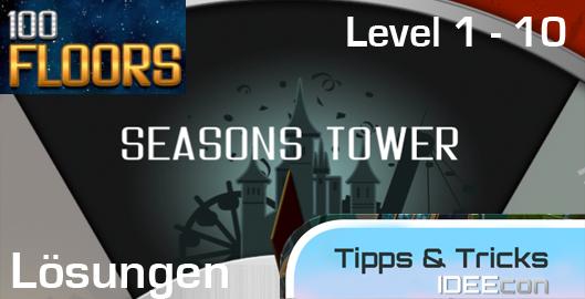 100 Floors Jahreszeiten Turm L 246 Sungen Level 1 2 3 4 5
