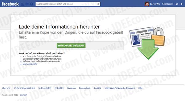facebook-daten-speichern-archiv-aufbauen