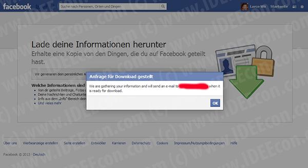 facebook-daten-speichern-bestaetigung