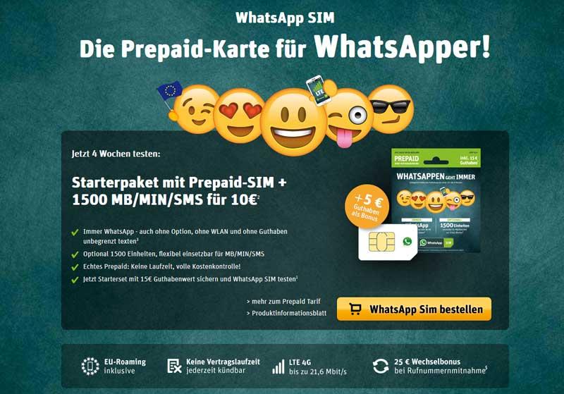 Prepaid Sim Karte Kostenlos.Whatsapp Sim Karte Kostenlos Bekommen So Geht S Lösungen Tipps