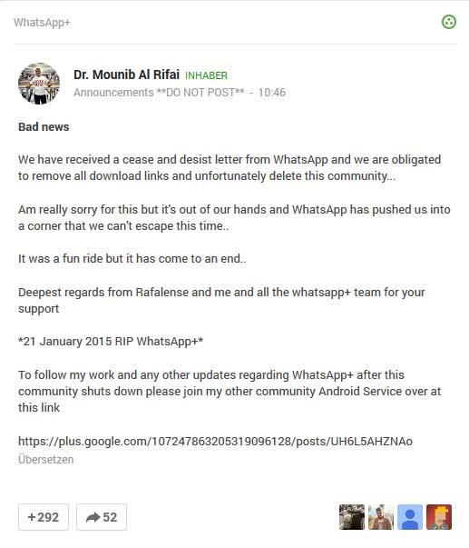 whatsapp-unterlassungsklage-unterlassungserklaerung-whatsapp-plus