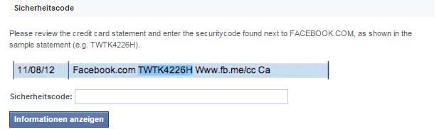 facebook-sicherheitscode-abbuchung-kreditkarte