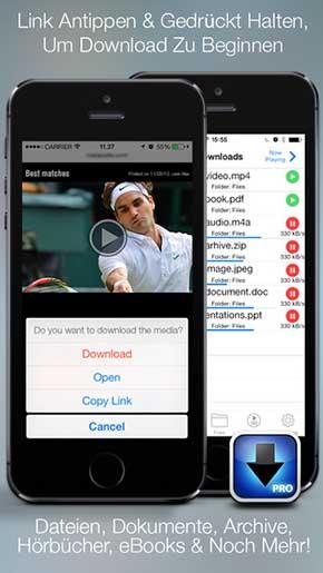 filme-und-videos-auf-das-iphone-downloaden-herunterladen-idownloader-pro