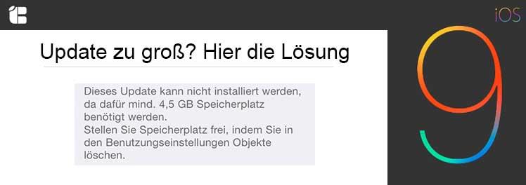 iOS-9-Update-zu-gross-loesung-anleitung-Hilfe