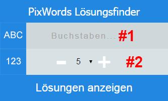 pixwords-loesungensfinder