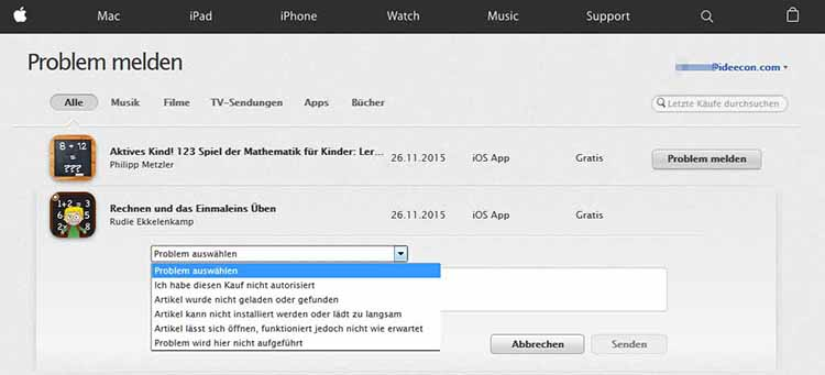Abbuchung-Apple-stornieren-melden-iPhone-iPad-Anleitung