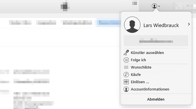 iTunes-Accountinformationen-auswaehlen
