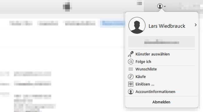 iTunes-Accountinformationen-auswaehlen