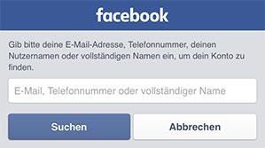 Facebook-Eingabe-Email-Handynummer-Login