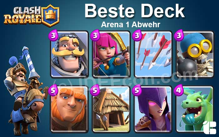 Clash Royale Deck Arena 1 attack