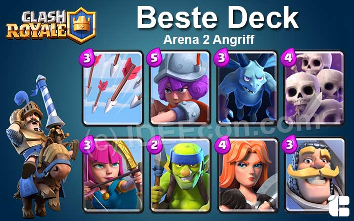 Clash Royale Deck Arena 2 attack