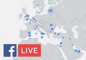 Facebook-Livemap