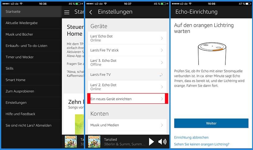 Amazon Echo einrichten – so geht´s dank Anleitung › Lösungen & Tipps
