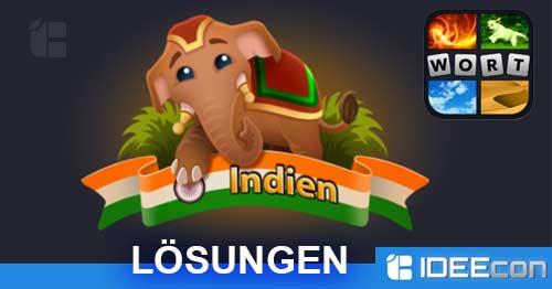 4 Bilder Ein Wort Lösung Indien