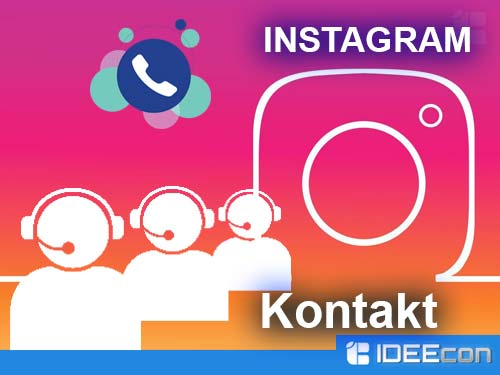 Instagram Kontakt Nummer