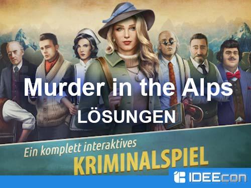 Murder Inn Lösung