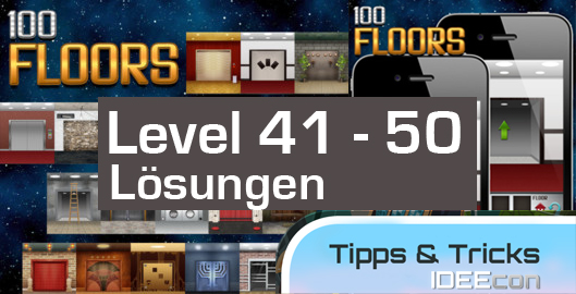 100 Floors Level 41 42 43 44 45 46 47 48 49 50