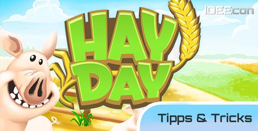 Hay Day Tipps und Tricks Hilfe Anleitung Beschreibung iPhone iPad iPod Loesungen