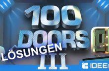 100 Doors 3 Lösung ALLER Level AKTUALISIERT