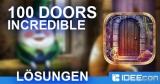 100 Doors Incredible Lösung aller Level für Android & iOS