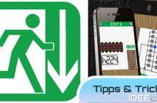 100 Exits Lösungen – Tipps & Tricks – Anleitung iPhone/iPad App