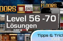 100 Floors Lösungen – UPDATE 05.06.2012 – Level 56 -70