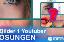 4 Bilder 1 Youtuber Lösung aller Ebenen und Level
