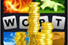 4 Bilder 1 Wort unendlich Münzen bekommen