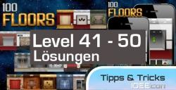 100 Floors Level 41, 42, 43, 44, 45, 46, 47, 48, 49, 50, 51, 52, 53, 54, 55 Lösungen