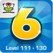 6 Numbers Level 111 – 130 Lösung (by Brainbow)