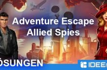 Adventure Escape: Allied Spies Lösung als Walkthrough