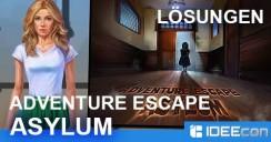 Adventure Escape: Asylum Lösung als Walkthrough