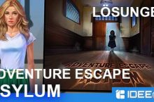 Adventure Escape: Asylum Lösung als Walkthrough