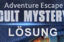 Adventure Escape: Cult Mystery Lösung als Walkthrough