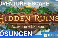 Adventure Escape Hidden Ruins Lösung aller Chapter als Walkthrough