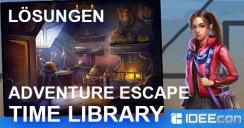 Adventure Escape: Time Library Lösung als Walkthrough