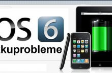 iOS 6 Update Akku Probleme – Apple  iPad, iPhone 4, iPhone 4s & iPhone 5