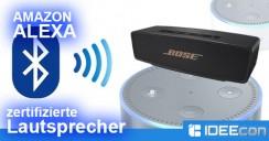 Alexa kompatible Bluetooth Lautsprecher – Komplette Liste