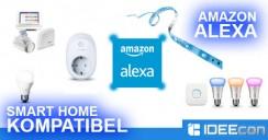 Alexa kompatible Smart Home Geräte – Komplette Liste
