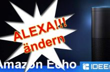 """Aktivierungswort """"Alexa"""" von Amazon Echo ändern"""